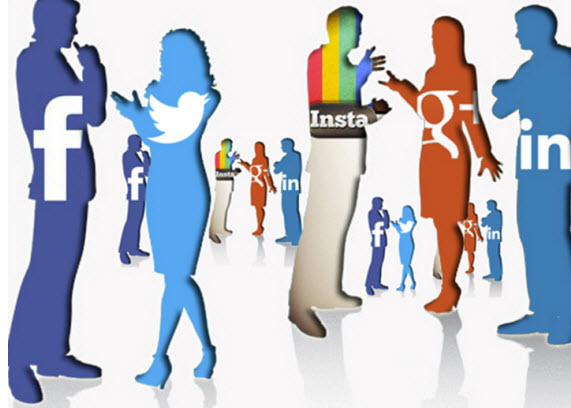 Social media networks connect people