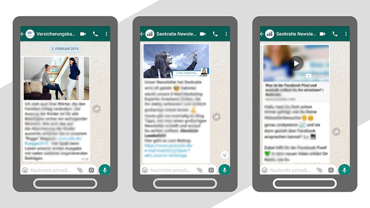 WhatsApp newsletters That goes off (Events)